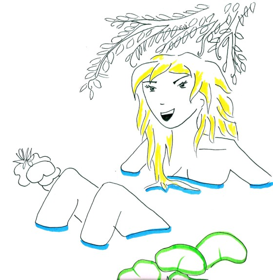 Nymphe-des-eaux