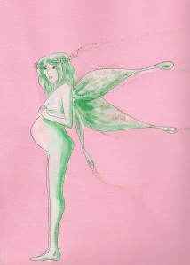 fée enceinte