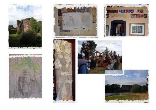 photo du Chateau de Comper, transformer en musée de la légende arthurienne