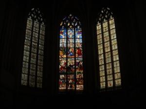 Vitraux d'un monuments d'Amboise (France)