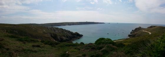 Baie des Trépassés dans le Finistère (France)